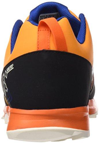 adidas Kanadia 7 Tr Gtx, Chaussures de Trekking et Randonnée Homme, Schwarz Bleu