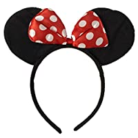 Funglowing Minnie MOuse Headband For kids - Costume Headband - Party Props - Kids Headband