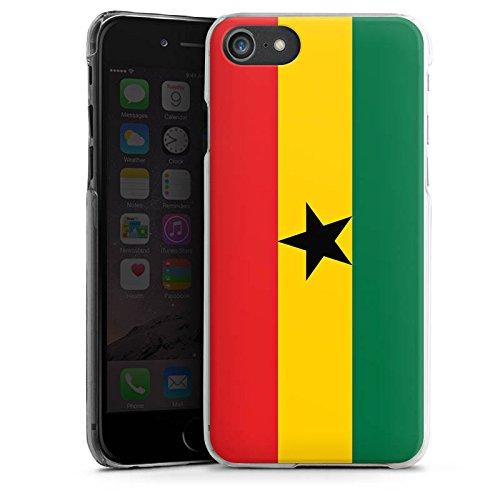 Apple iPhone 6 Silikon Hülle Case Schutzhülle Ghana Flagge Fußball Hard Case transparent