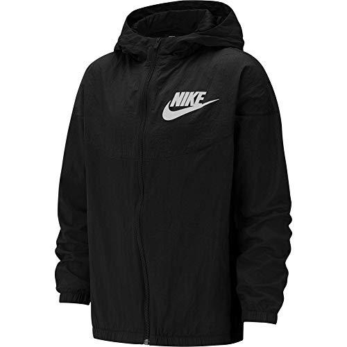 Nike Veste Coupe Vent Sportswear Woven Noir L EU (146-156 cm)