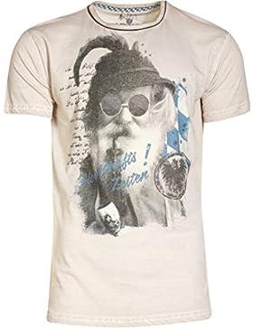 Michaelax-Fashion-Trade Marjo - Herren Trachten T-Shirt, M98 Sepperl (621700-020047)