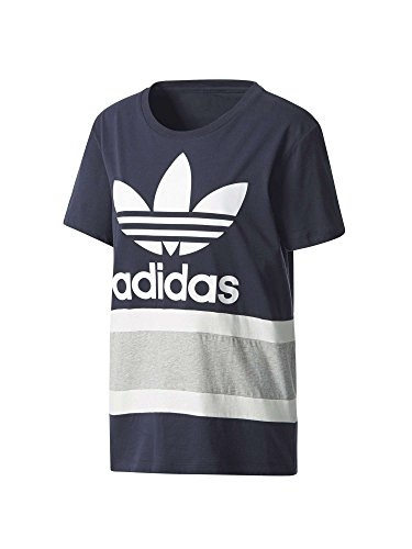 adidas Boyfriend Trefoil T-Shirt Damen 36 - S (College Adidas Apparel)