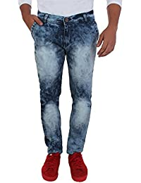 Aarzu Style Mens Blue Pop Style Jeans