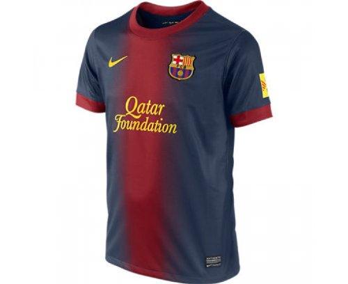 Nike Jungen Trikot FC Barcelona Boys Home Replica Jersey, Midnight Navy/stormred/Tour, M, 478313 -