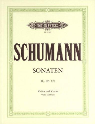Sonatas in a Minor Op.105- d Minor Op.121 Violon