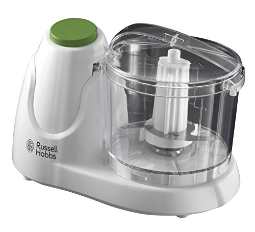 41HD1GZWqkL - Russell Hobbs Mini Chopper 22220, 130 W - White