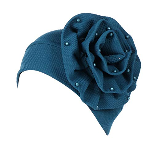 CixNy Turban Hüte, Beanie Schal Kopfbedeckung Kopftuch Fedora Hut Handgefertigt Krebs Chemo Mode-Kopfverpackung Hijab Cancer Turban Chemo Hat Beanie ()