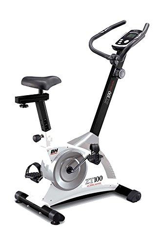 BH Fitness ZT100 H315 heimtrainer - fitnessbike - ergometer - 7,5 kilo schwunggewicht - manuelles magnetbremssystem - informativer lcd-monitor - robuster aufbau - integrierte transporträder preisvergleich