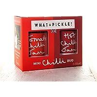 What a Pickle Mini Chilli Duo Gift Set - Tomato Chilli Jam & Hot Chilli Jam 100g