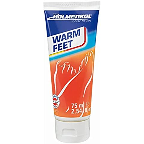 Holmenkol cálido Feet wärmende Soporte Crema Reconfortante piel cuidado térmica Serie 2015