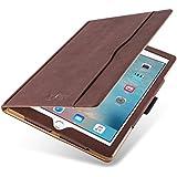"""iPad PRO 12.9"""" 2017 Hülle   JAMMYLIZARD Ledertasche Flip Case [Business Tasche] Leder Smart Cover Lederhülle, Braun & Honig [mit Eingabestift & Pencil Halter]"""