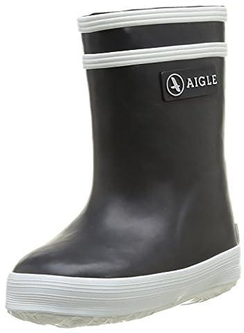 Aigle - Flac - Chaussure Premiers pas - Fourrée mixte bébé - Bleu (Marine) - 23 EU ( 6 )