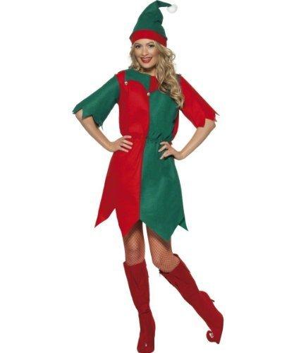 tskostüm–Meine Damen Elf Kostüm–Kleine–8/10 (Santas Elf Erwachsene Kostüme)