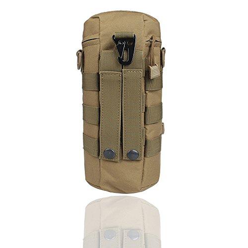 Xhorizon Bottiglia Borraccia d'acqua impermeabile multiuso in Nylon sacchetto con custodia militare borsa tattica molle con bollitore Outdoor cintura sacchetto marsupio zaino portatore d'idratazione #2