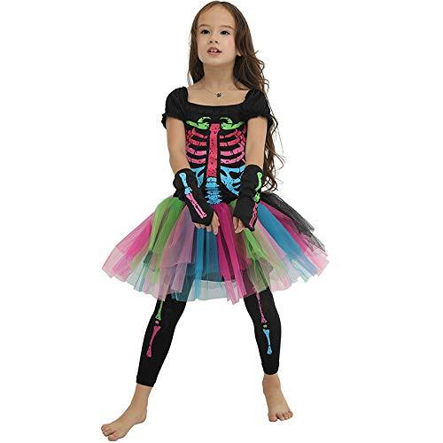 MEIXIA Halloween Bunte Weibliche Kostüme/Erschreckende Kostüme M