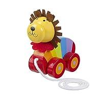 Orange Tree Toys Pull Along Lion