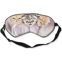 Eye Mask Eyeshade Funny Kitten Sleeping Mask Blindfold Eyepatch Adjustable Head Strap preisvergleich bei billige-tabletten.eu