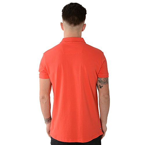 Weekend Offender Gose 1702 Chilli Polo T-Shirt Orange