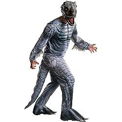 Disfraz de Indominus Rex Jurassic World para hombre