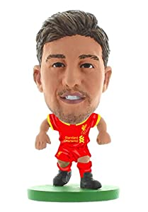 SoccerStarz SOC740 2017 Version Liverpool Adam Lallana Home Kit Figures by Creative Toys Company