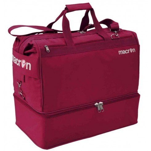 Macron Apex Holdall Medium Sporttasche Fitness Sport Tasche Bags Football Granata
