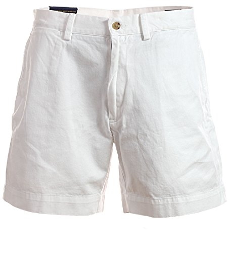 Polo Ralph Lauren Chino Short classic fit 6 Inch kurze Hose Bermuda weiß Größe 34