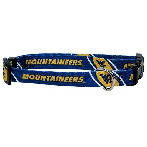 hunter-mfg-west-virginia-mountaineers-dog-collar-extra-small