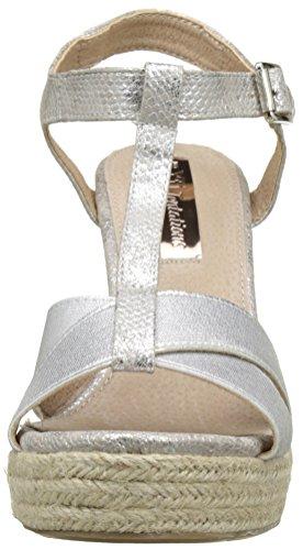 XTI 030609, Scarpe Col Tacco Donna Argento