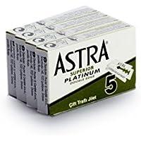 Rusty Bob - des lames de rasoir Astra pour le rasoir classique - 20 Rasierklingen im Set