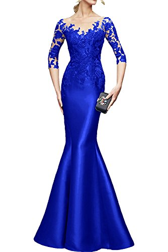 TOSKANA BRAUT - Robe - Sirène - Femme bleu roi