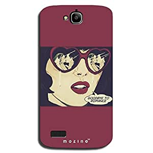 Mozine Goodbye To Romance printed mobile back cover for Huawei Honor holly