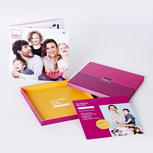 tudioline Photography Familien Fotoshooting Geschenkbox - 49,90 €