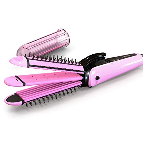 Alisador de pelo rizador de maíz debe ser caliente tres alisadores de tabla de planchar recto clip no daña el cabello profesional estilista