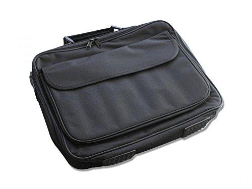 """Notebook Laptop Tasche Nylon 17"""" Zoll Hülle Notebooktasche Schwarz Neu"""
