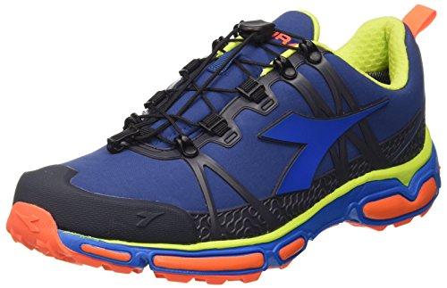 Diadora  Trail Race Win, Chaussures de course pour homme Blu (Blu Classico/Blu Nautico)