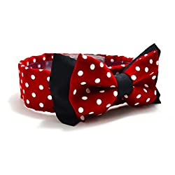 The Minnie Mouse Dog Bow Tie - Large