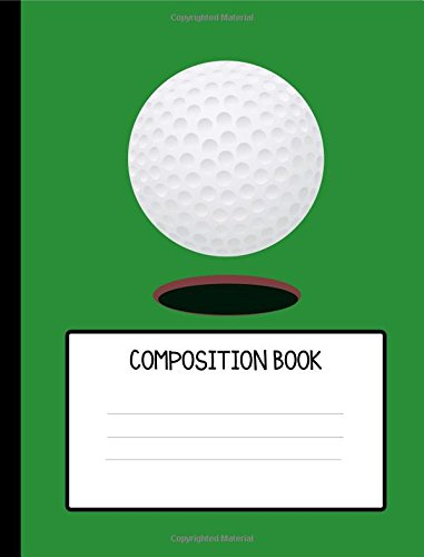 Golf Ball Composition Book por Varsity Books