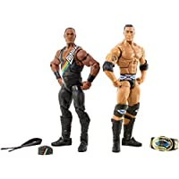 WWE Elite Collecteur la Nation de domination: The Rock & Faarooq 2-pack