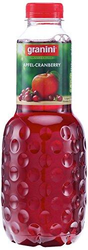 Granini Trinkgenuss Apfel-Cranberry, 6er Pack (6 x 1 l)