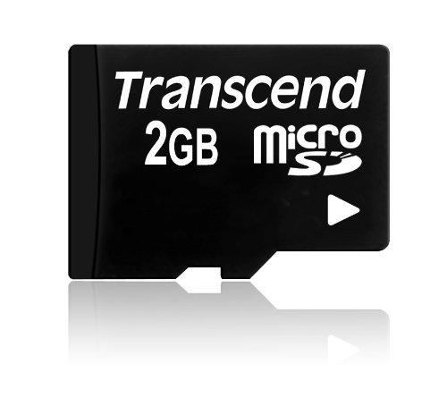 Transcend Micro SD 2GB Speicherkarte (Gb 2 Micro-sd-speicherkarte)
