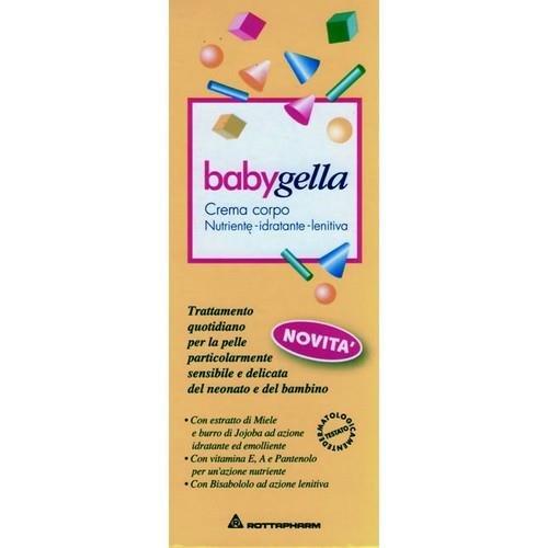 Babygella Crema Corpo Bimbo con Vitamina A ed E - 100 ml