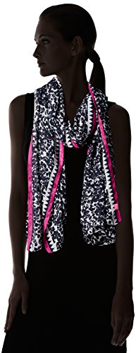 Joules Long Line Woven Scarf, Echarpe Femme French Navy Winter Ditsy
