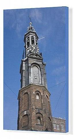 Canvas Print of Munttoren (Mint Tower), Amsterdam, Netherlands, Europe