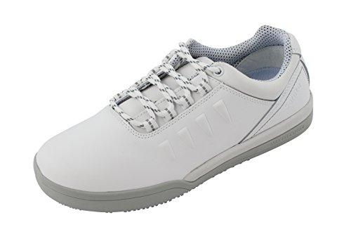 Sanita San-Chef Lace Shoe-o2, Chaussures de Sécurité Mixte Adulte Blanc - Blanc