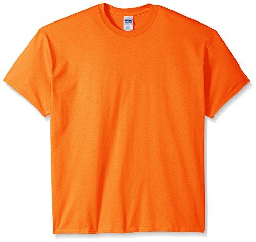 Gildan Damen 200L Ultra Baumwolle T-Shirt aus 100% Baumwolle Orange