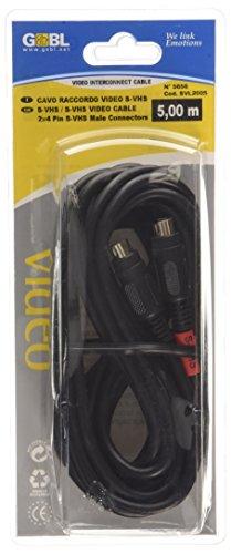 G BL & 5 m Y-C Super VHS-Video Kabel