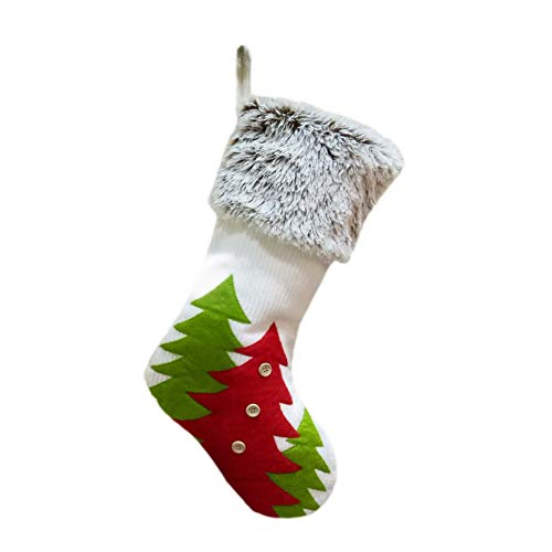 Yalatan Christmas Stockings Candy Socks decoración