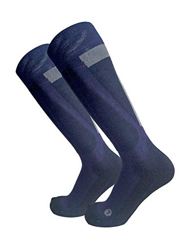 Wikallo chaussettes (hiver) skiing III ; couleur: gris ; taille(UE): 43-46