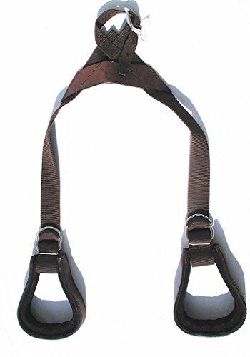 AMKA Western Steigbügel Set COMFORT für KIDS Kinder | Kindersteigbügel für Westernsattel | Kinder Steigbügel Set für Holzpferd