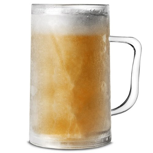 Frosty Mug 14,1 oz / 400ml da bar@drinkstuff | Plastica Congelatore Tazza, tazza di birra, birra Stein, Birra Boccale | Freezable Beer Tankard